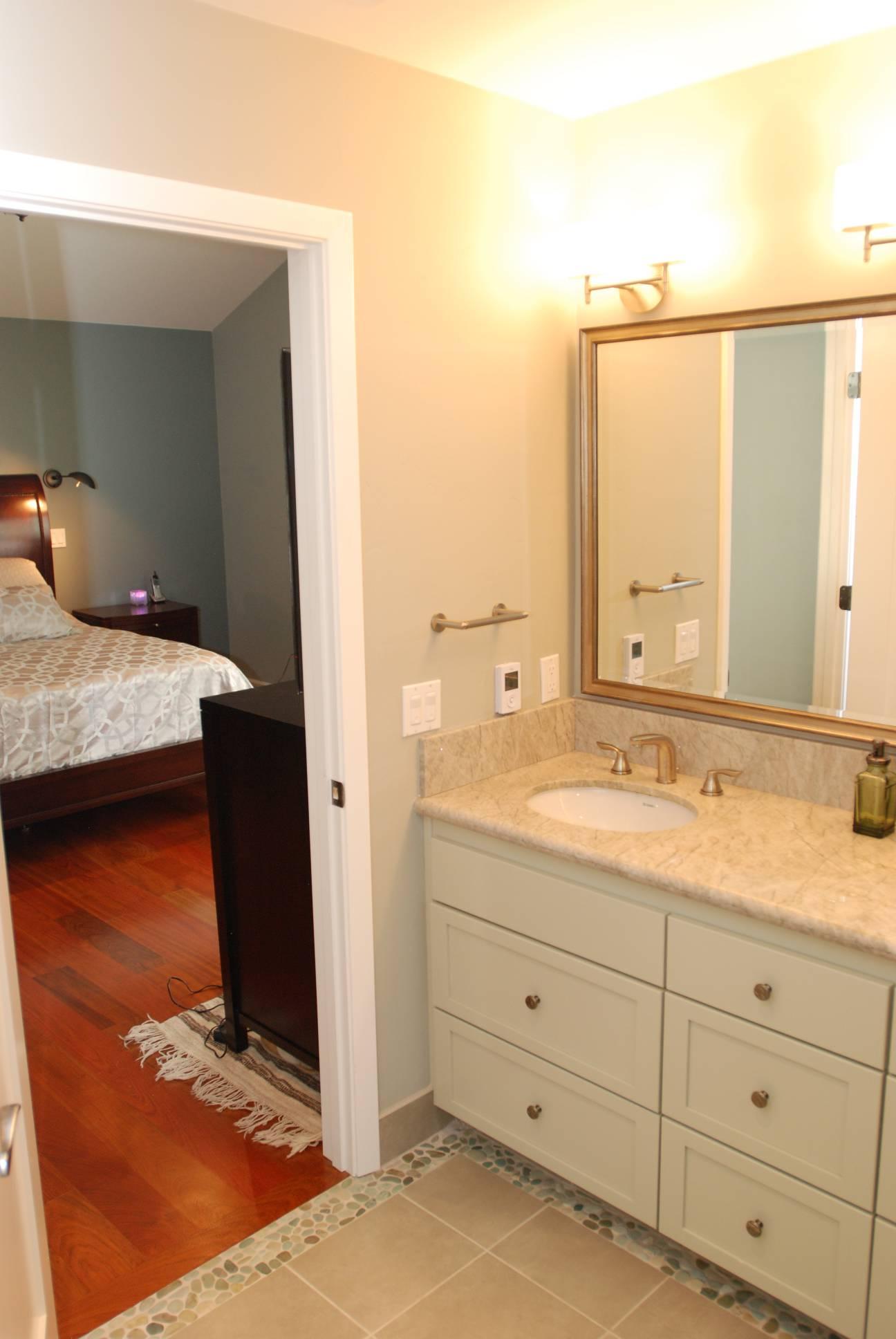 Bathroom traditional double sink, Los Altos Hills