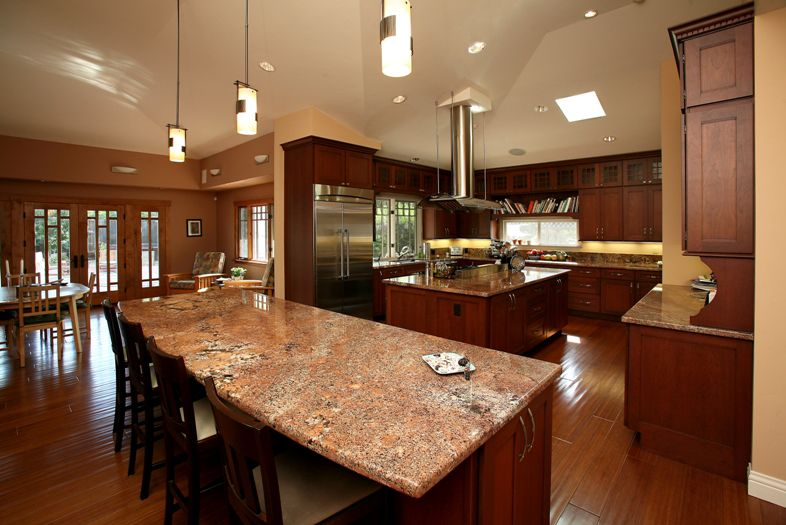 Eat-in kitchen, interior aarchitect design, Los Altos
