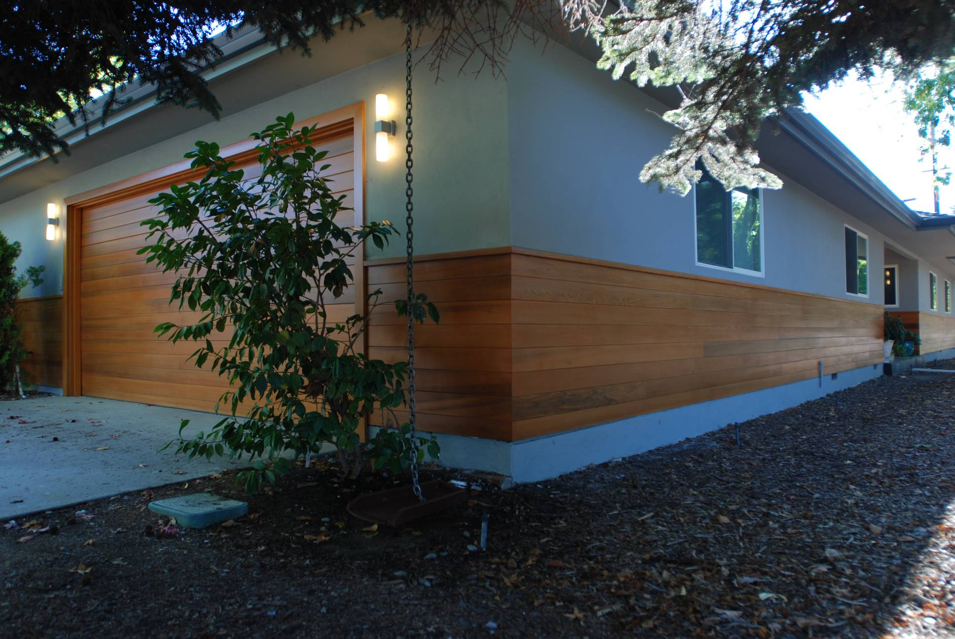 Exterior wood facade, Exterior design work, Architect work, Menlo Park