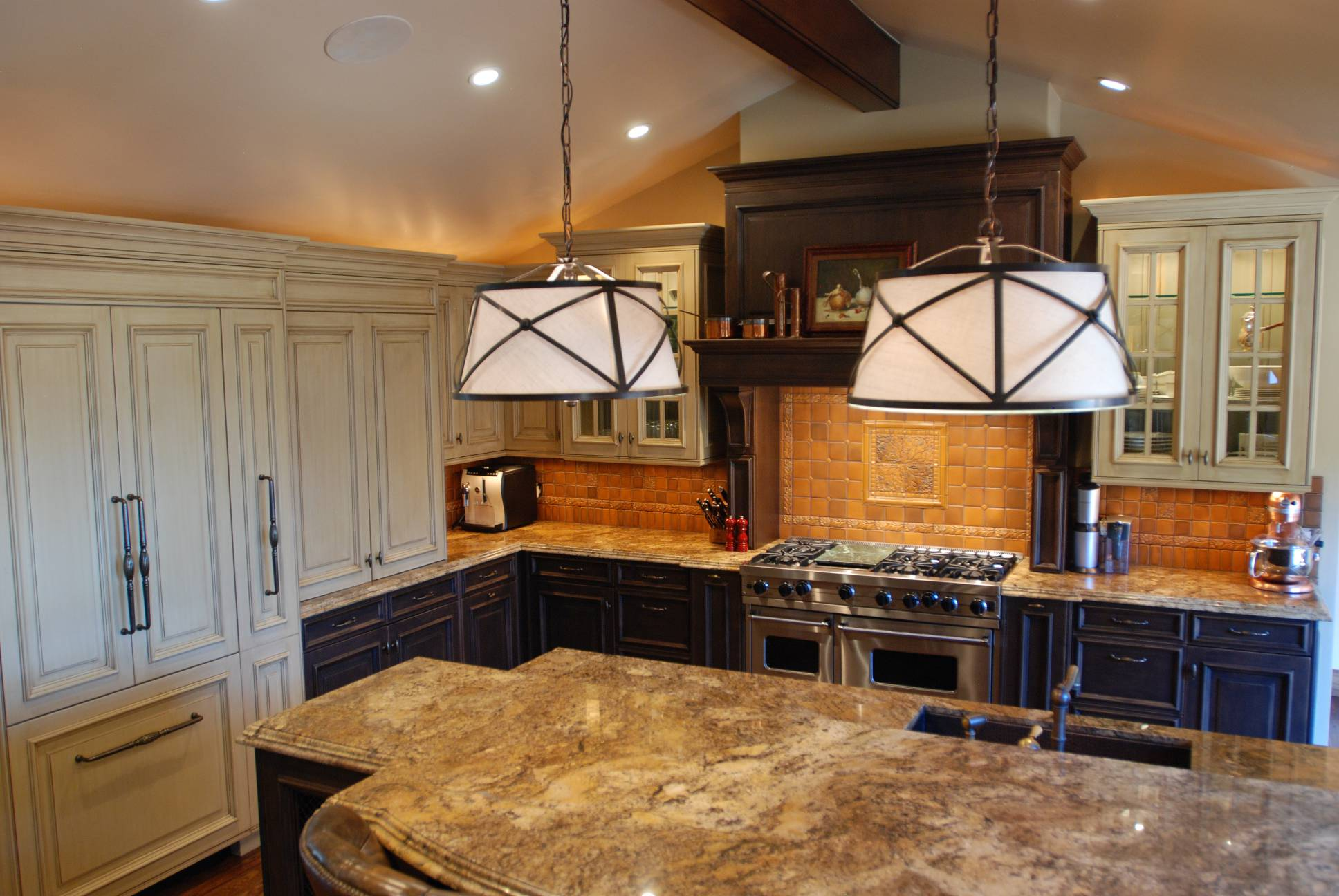 Gourmet kitche granite counters, best interior work design, architect work, Los Altos Hills