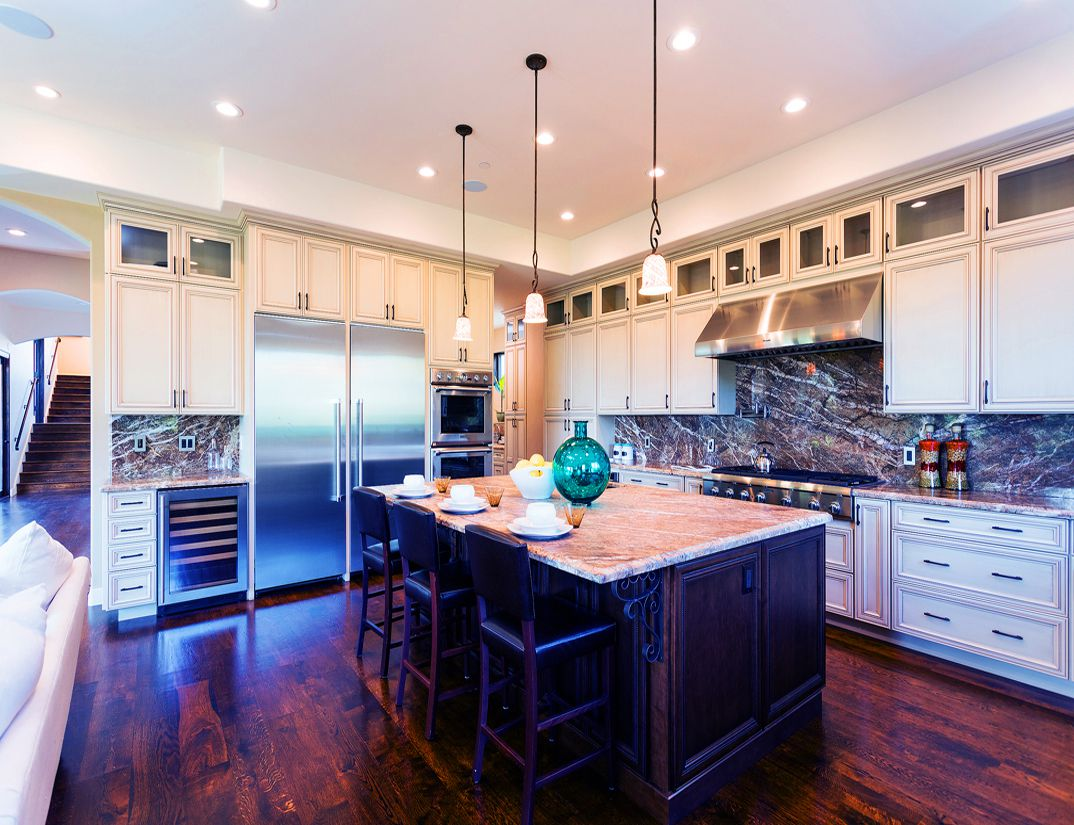 Gourmet kitchen, critic, interior work design, Los Altos Hills