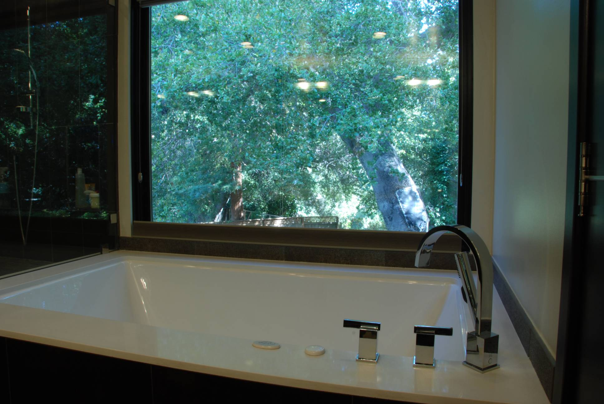 Hot Tub with View, architect design, Los Altos