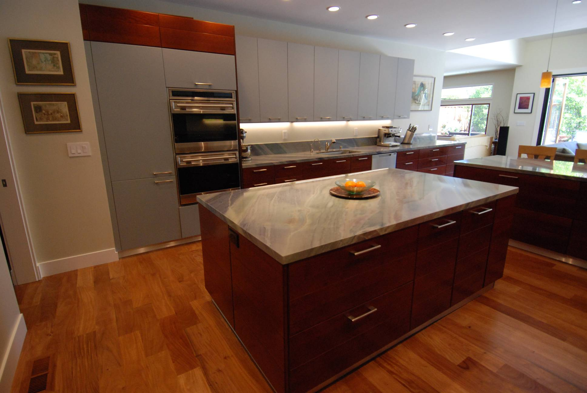 Kitchen island, interior work, Palo Alto
