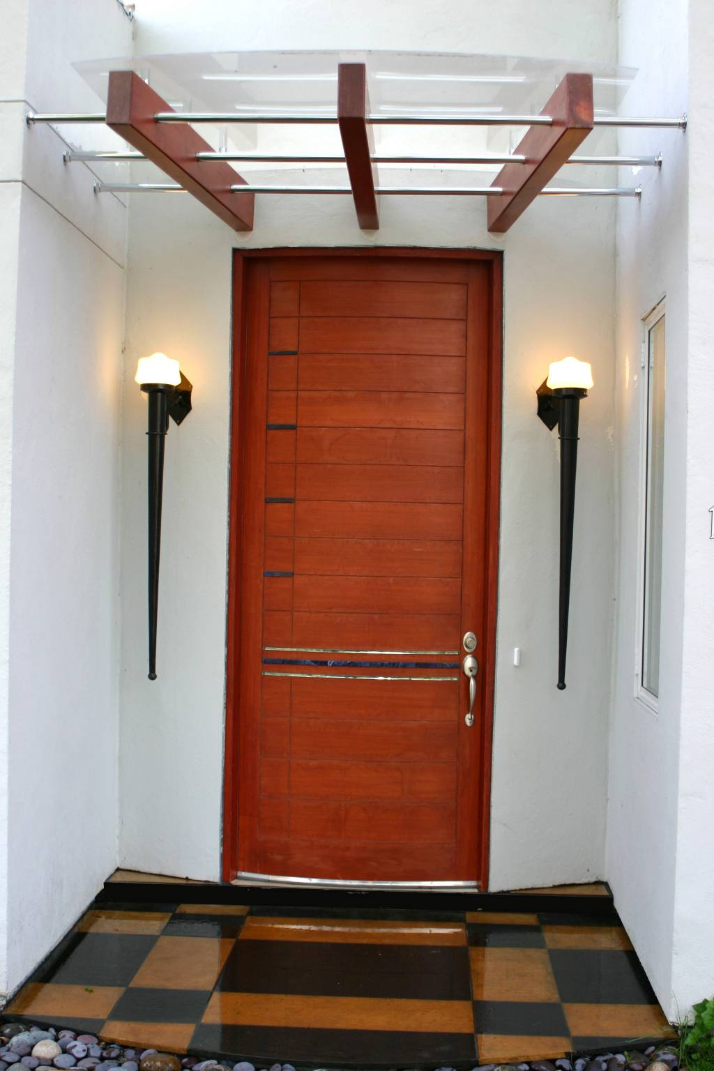 Beautiful Large entryway door, interior design, Sunnyvale