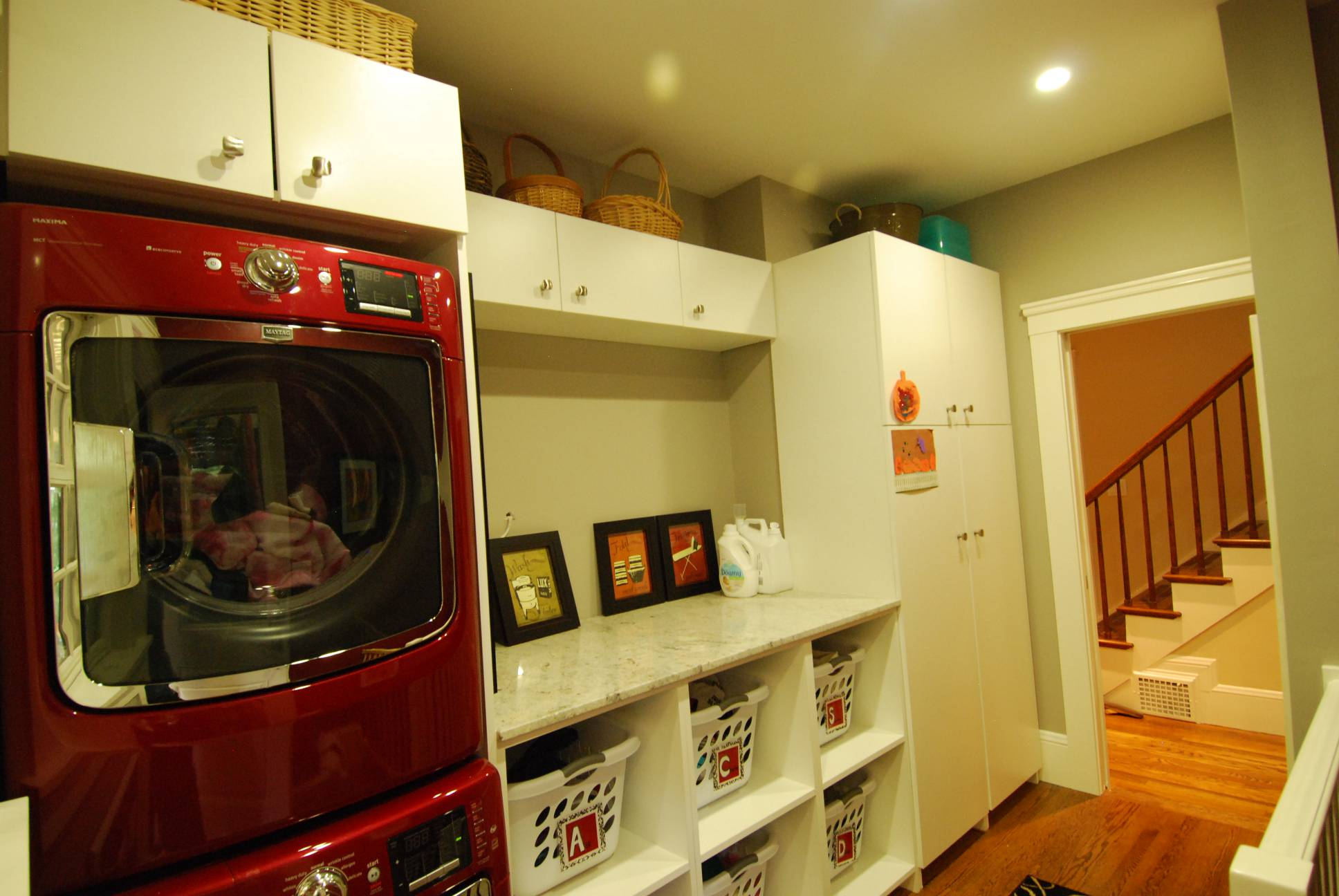 Laundry room storage, Architect work, Interior design work, Palo Alto