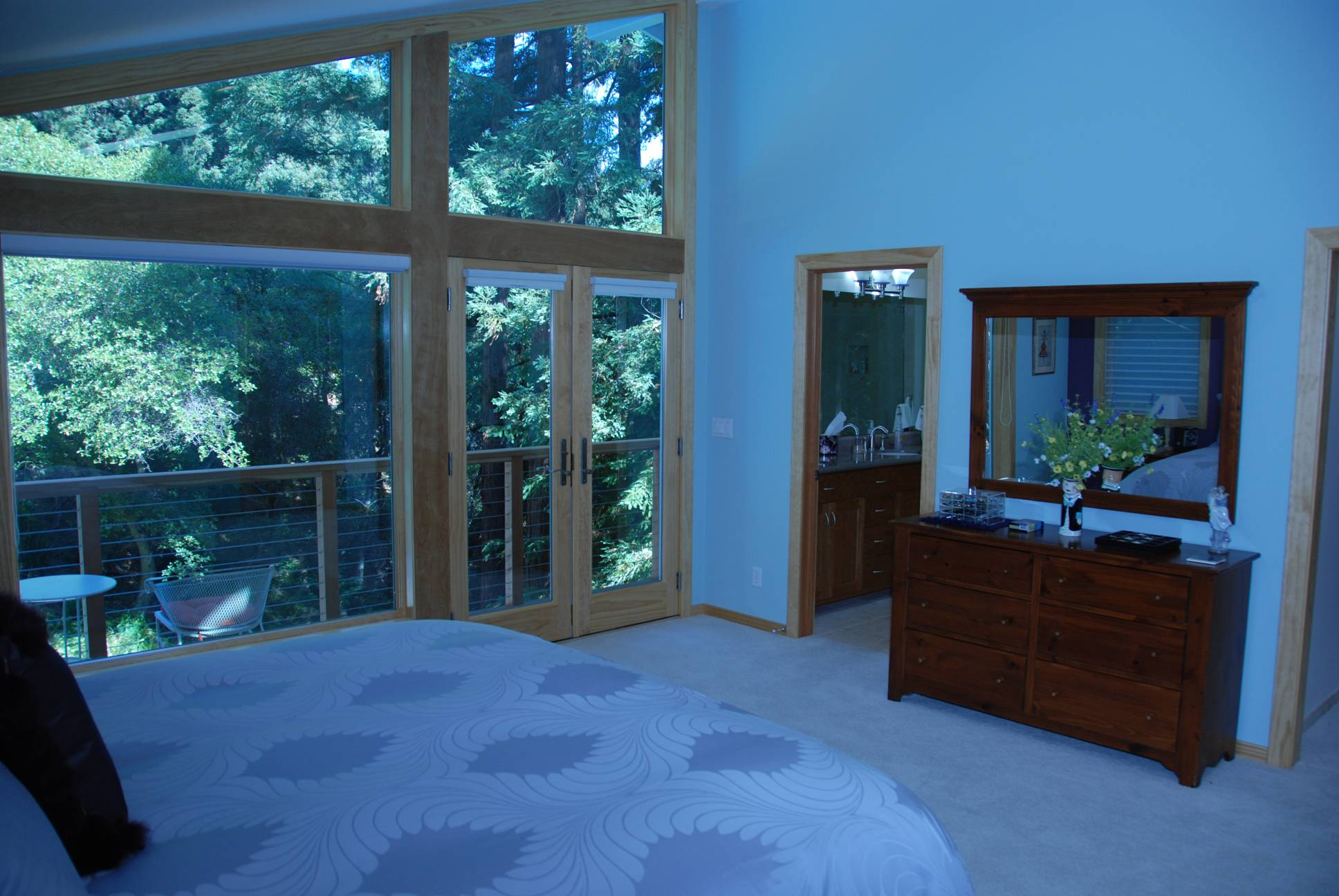 Master Bedroom View, Architect design, interior design work, Woodside