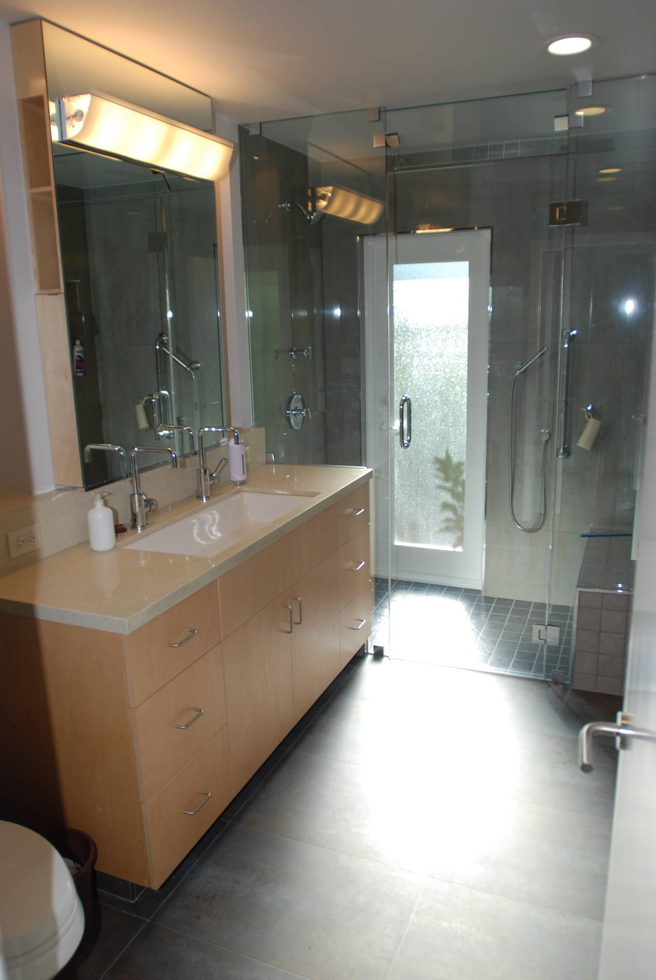Modern bathroom, Architect design, interior design work, Menlo Park