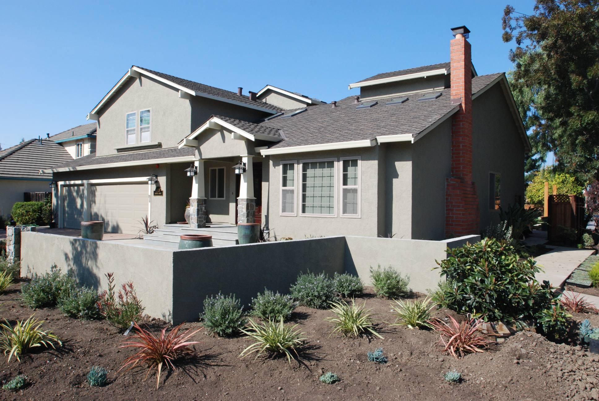Traditional Front Facade, Splendid Architect design, exterior design work, Mountain View