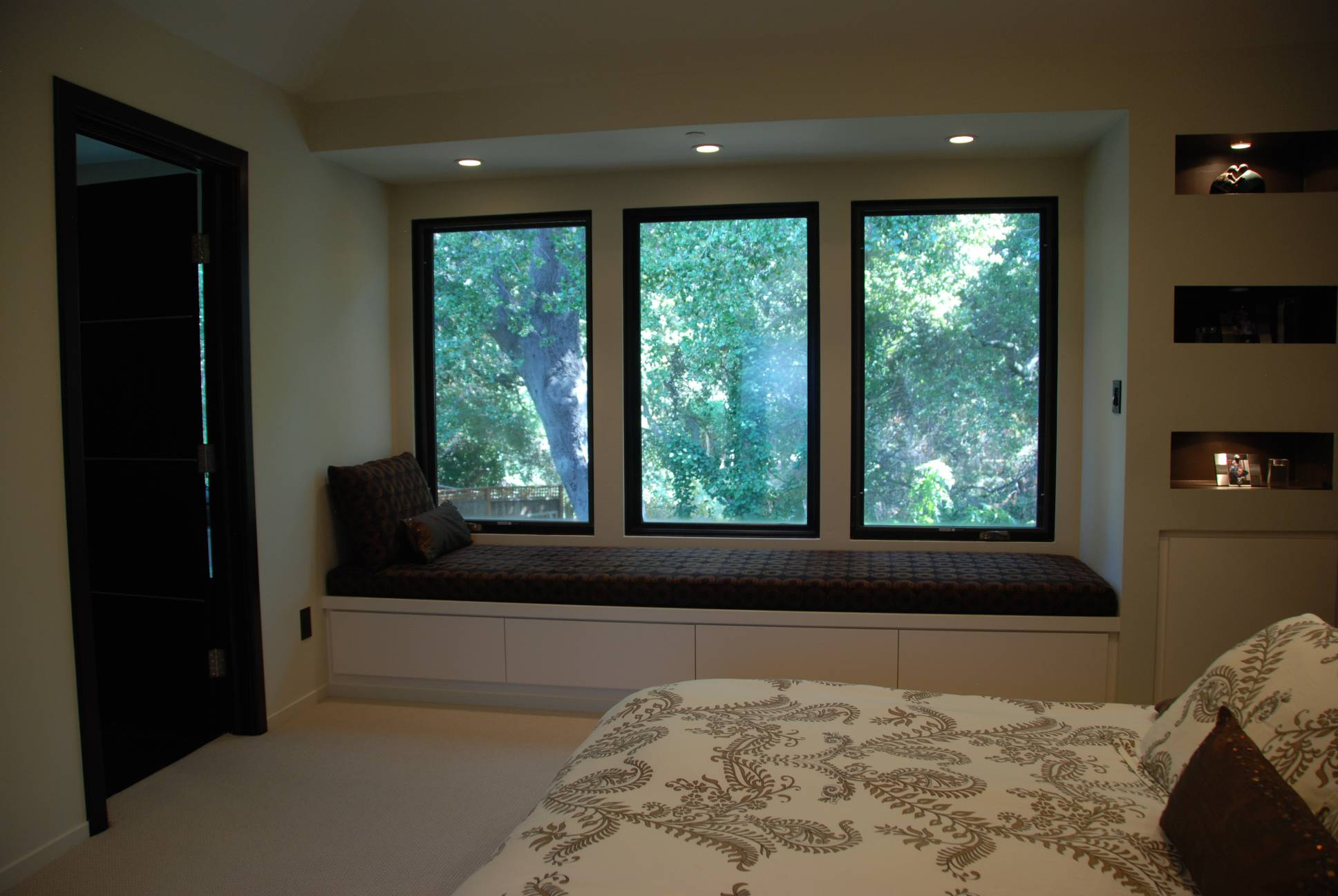 Window Seat, architect design, Los Altos