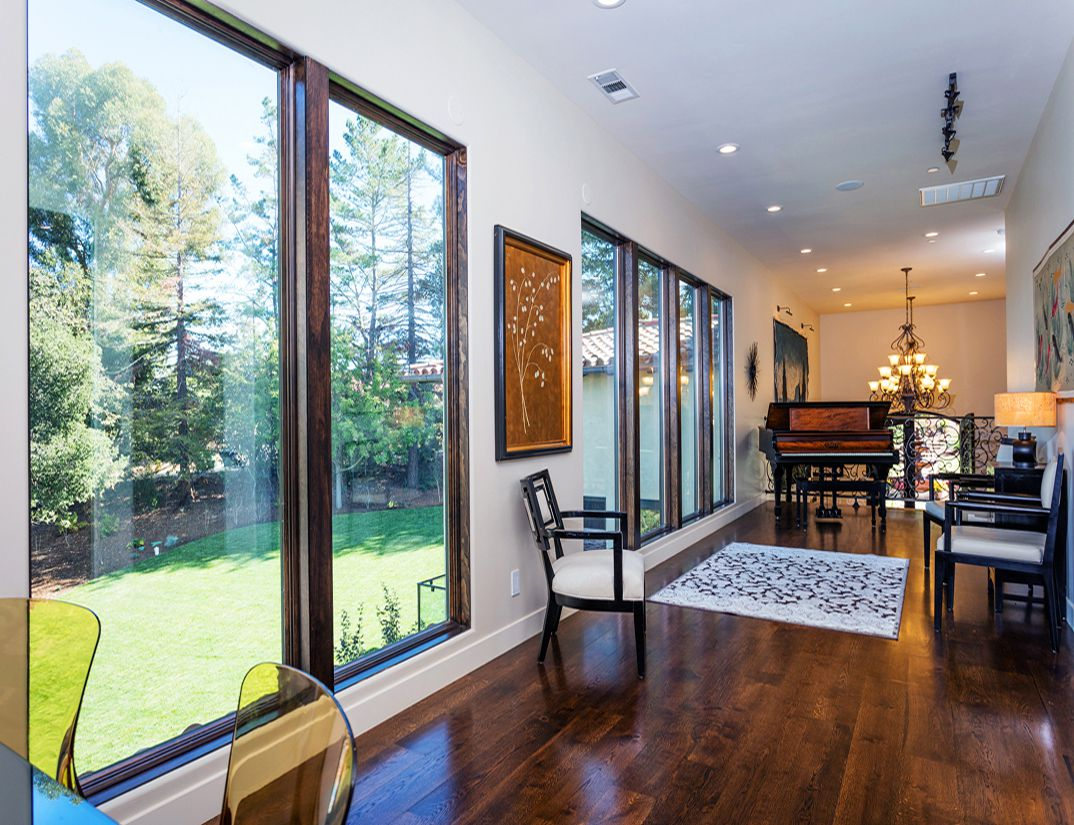 Wood floors, interior design work, Los Altos Hills