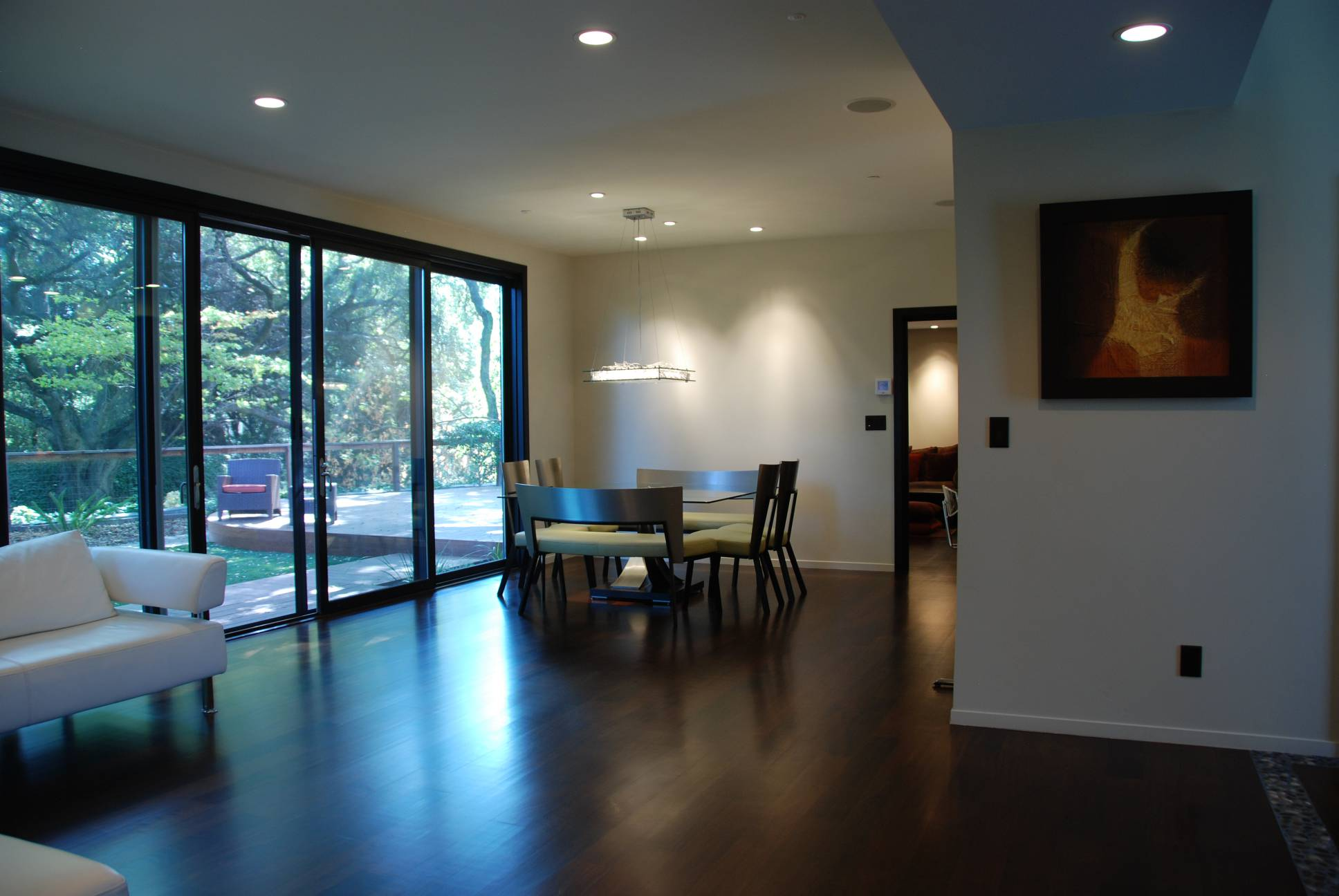 ground-floor-living-area-private-dining, best interior work, architect design, Los Altos