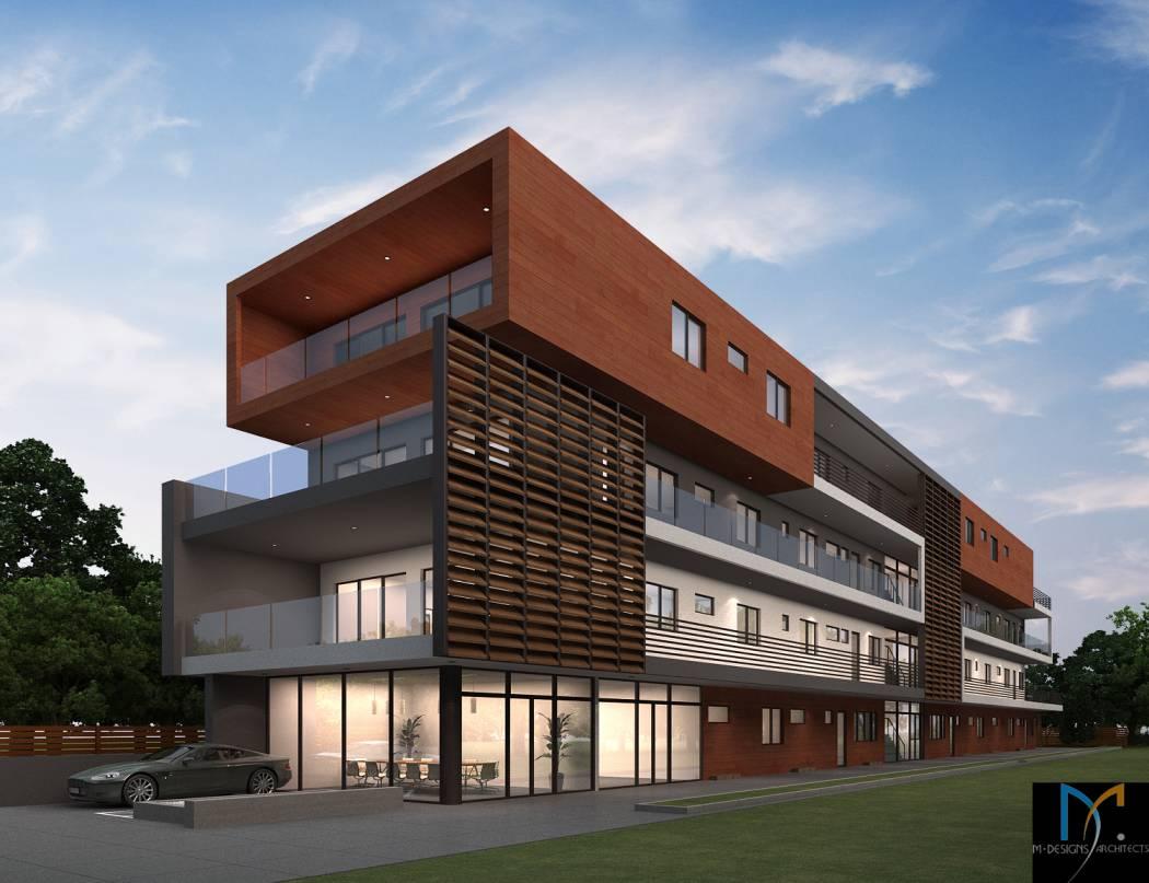 modern contemporary multiunit, architect design