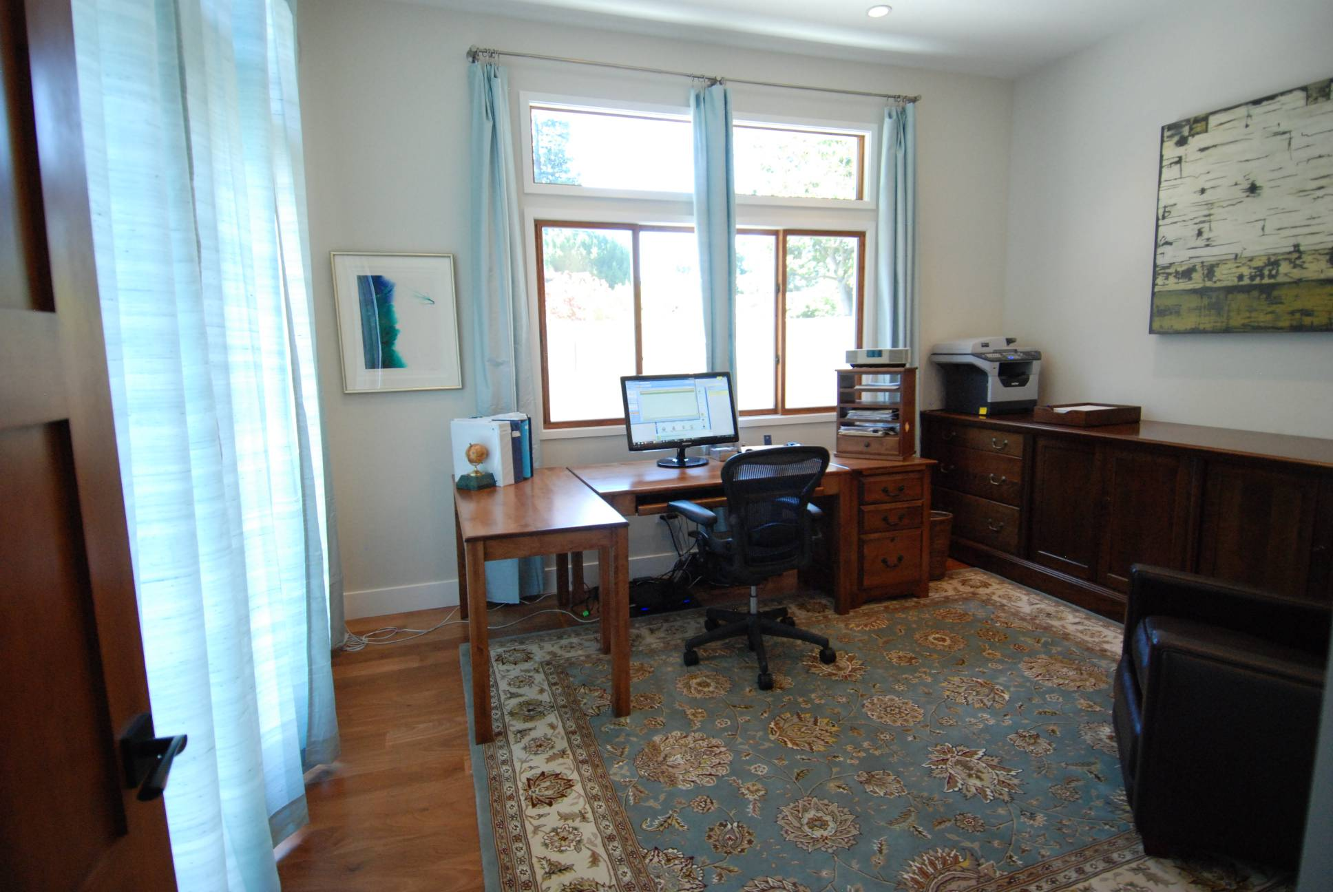 Simple office study, architect work, Palo Alto
