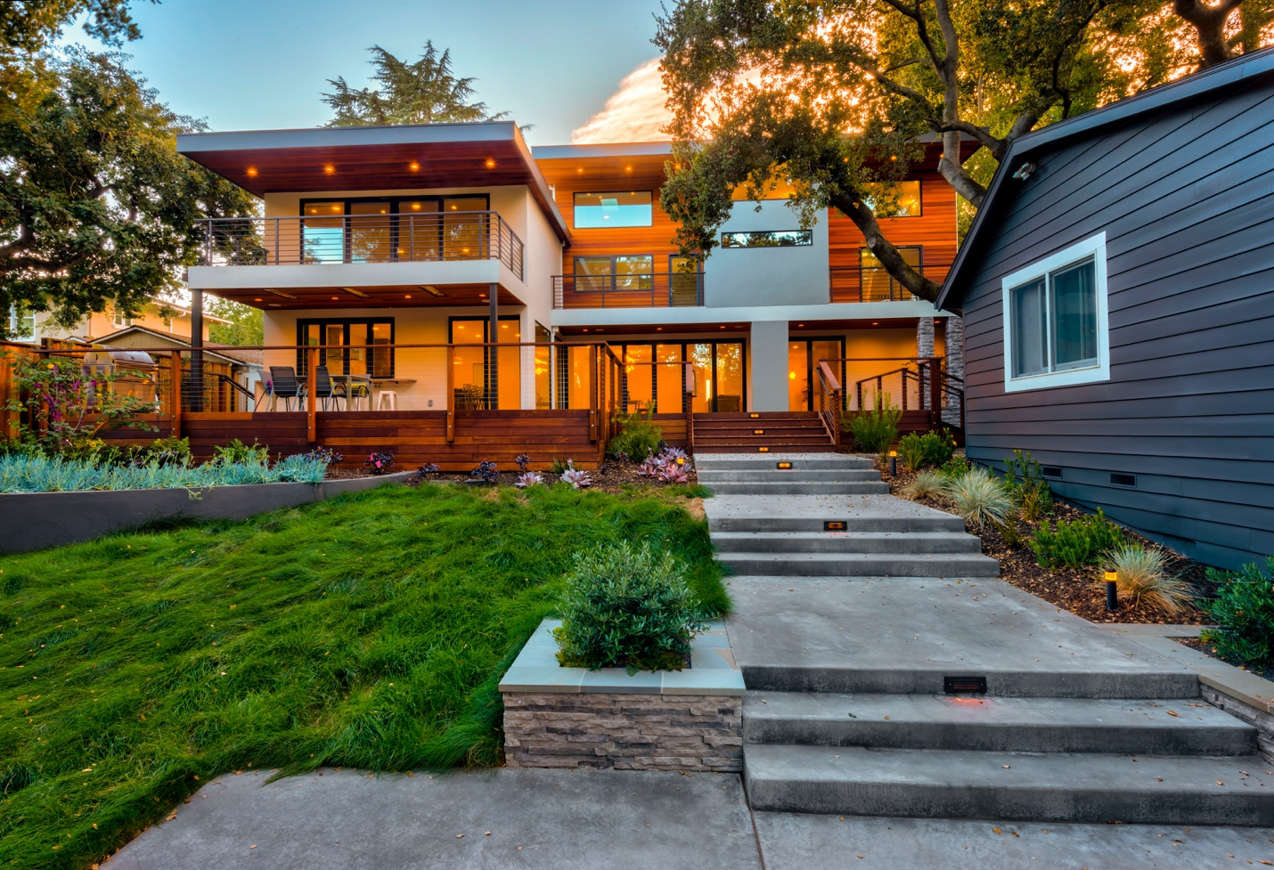 Mdesignarchitect, exterior design work,Los Altos