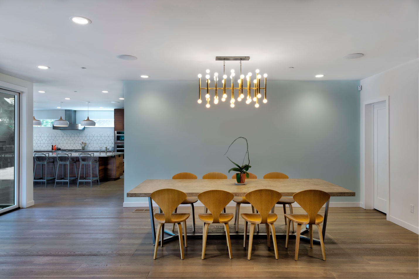 Mdesignarchitect, Dinning room design,Los Altos