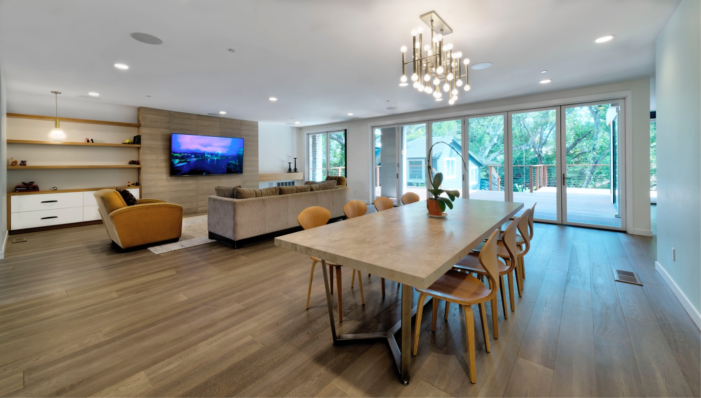 Best Tv+Dinning Lounge Designer,Mdesignarchitect, Dinning+Tv lounge design,Los Altos