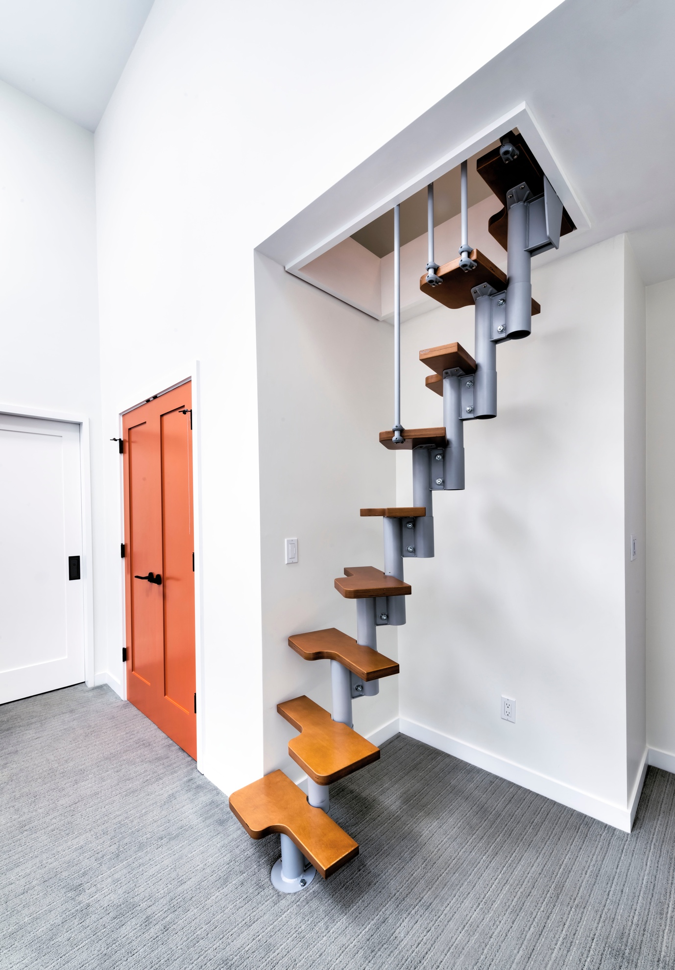 Modern, New look stairs design, Los Altos
