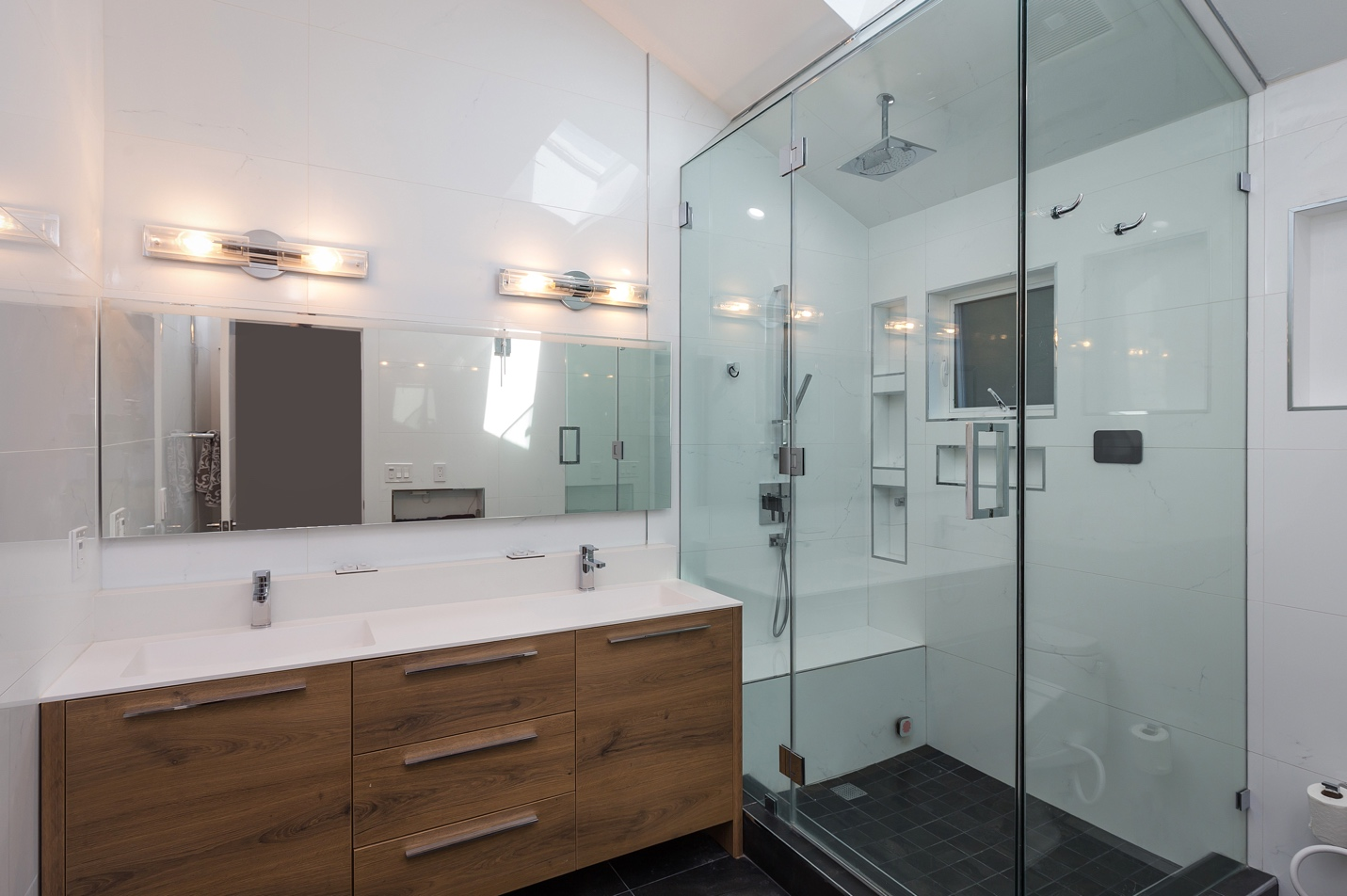 modern style mirrored BathRoom,Woodside