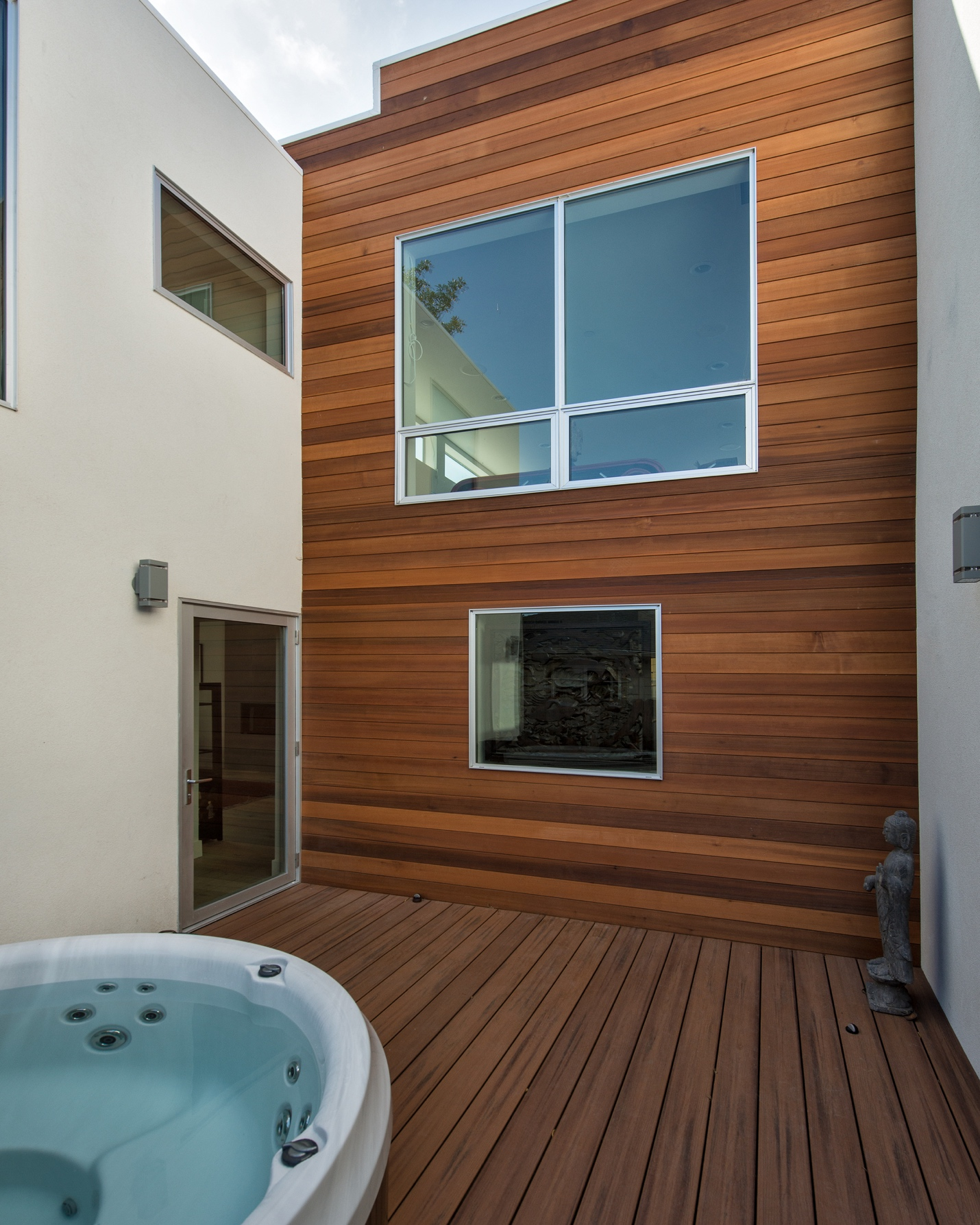 Outdoor pool, architect design, Menlo Park