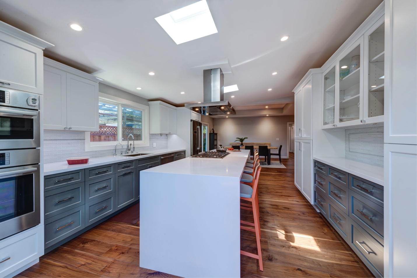 Modern large kitchen, architect design work, Sunnyvale