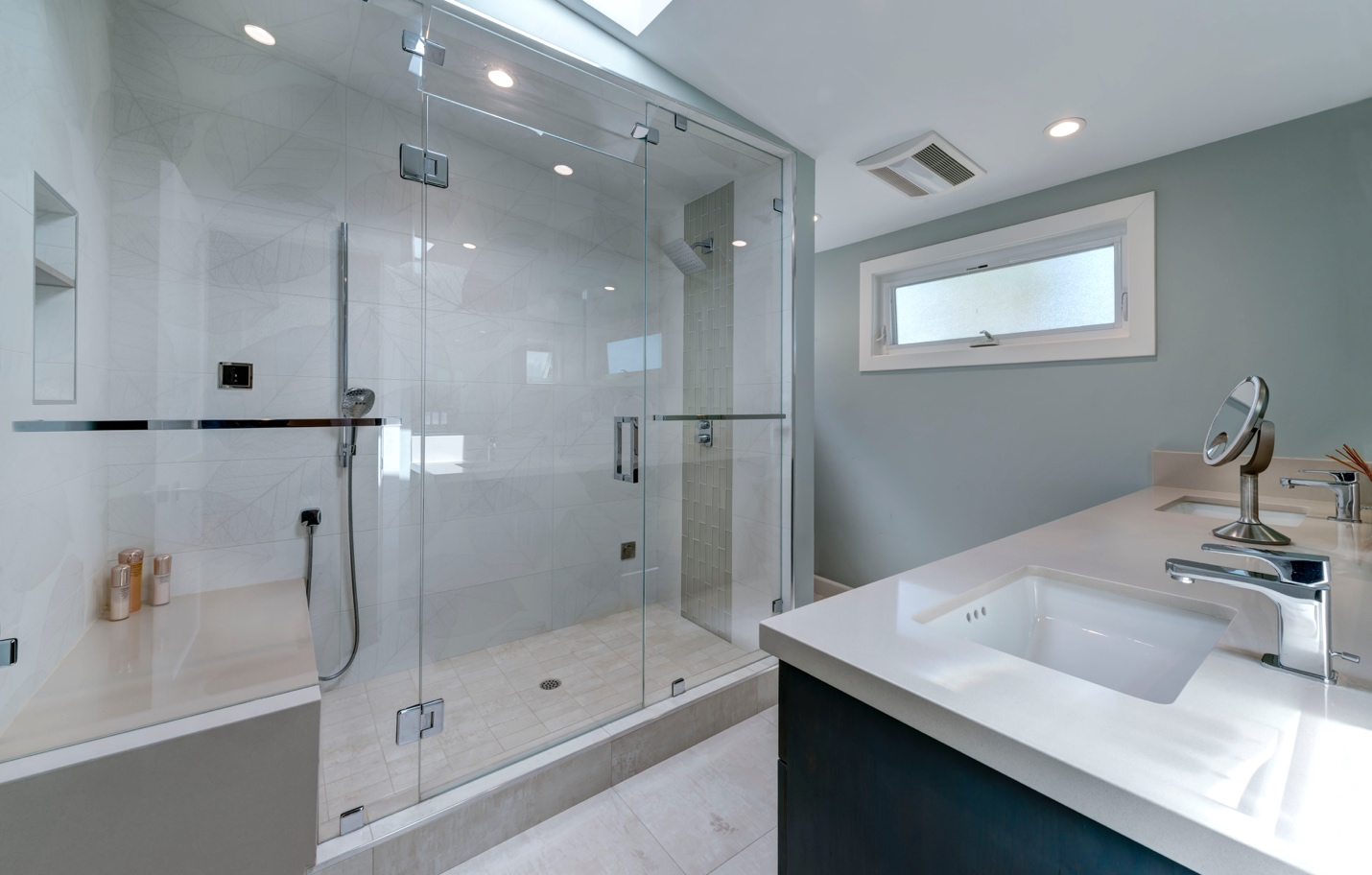 Modern bath room, interior design, Sunnyvale