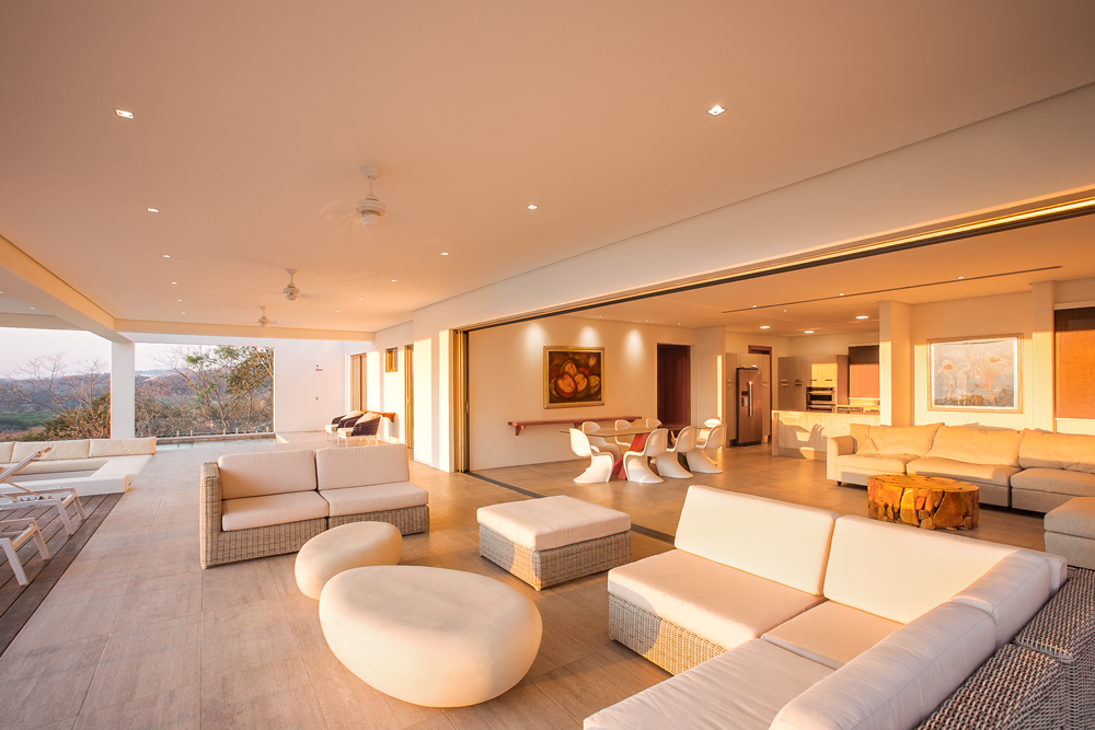 Large sitting area with dinning and overview, Acuarela Dream Residence
