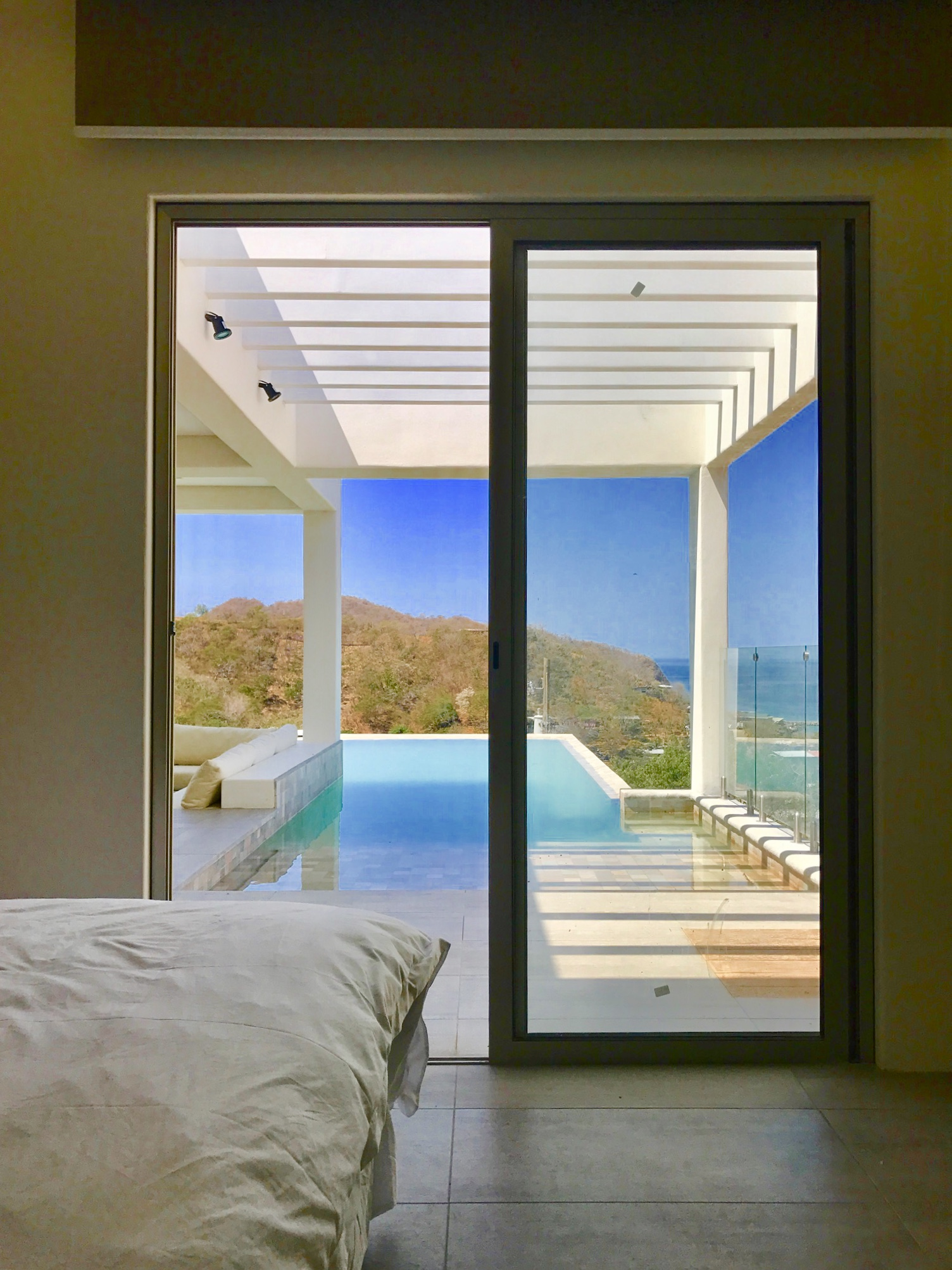 Luxurious pool, overview, architect design, Acuarela Dream Residence