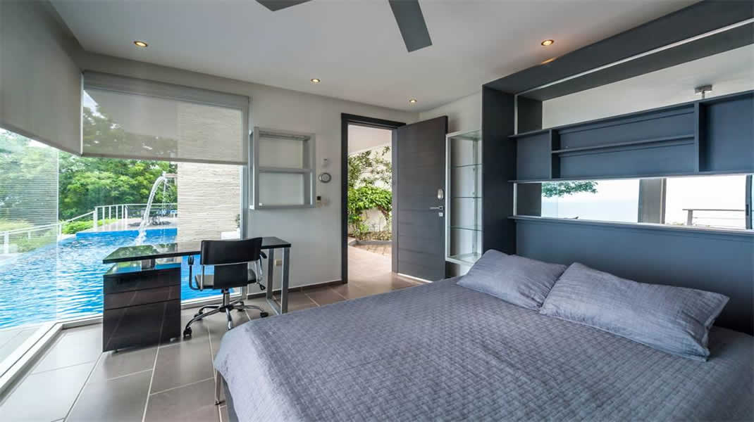 Beautiful small bed room,pool, architect design, T6 Beach Residence
