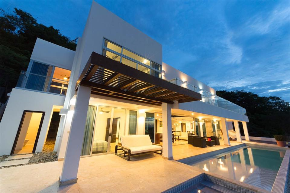 Modern beach, best architect design, Hamacas Beach Residence