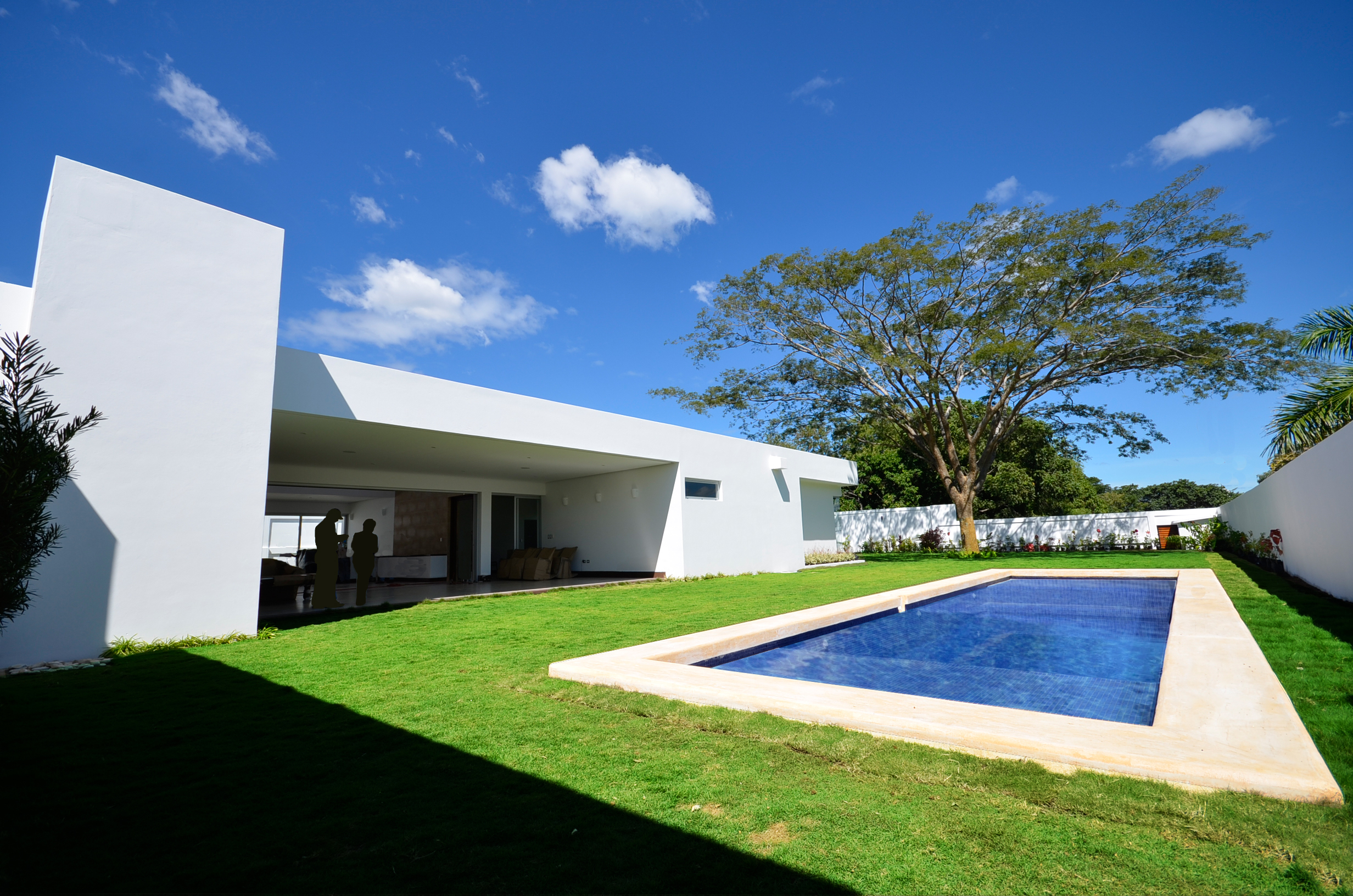 Simple pool, architect design, EL Mirador Residence