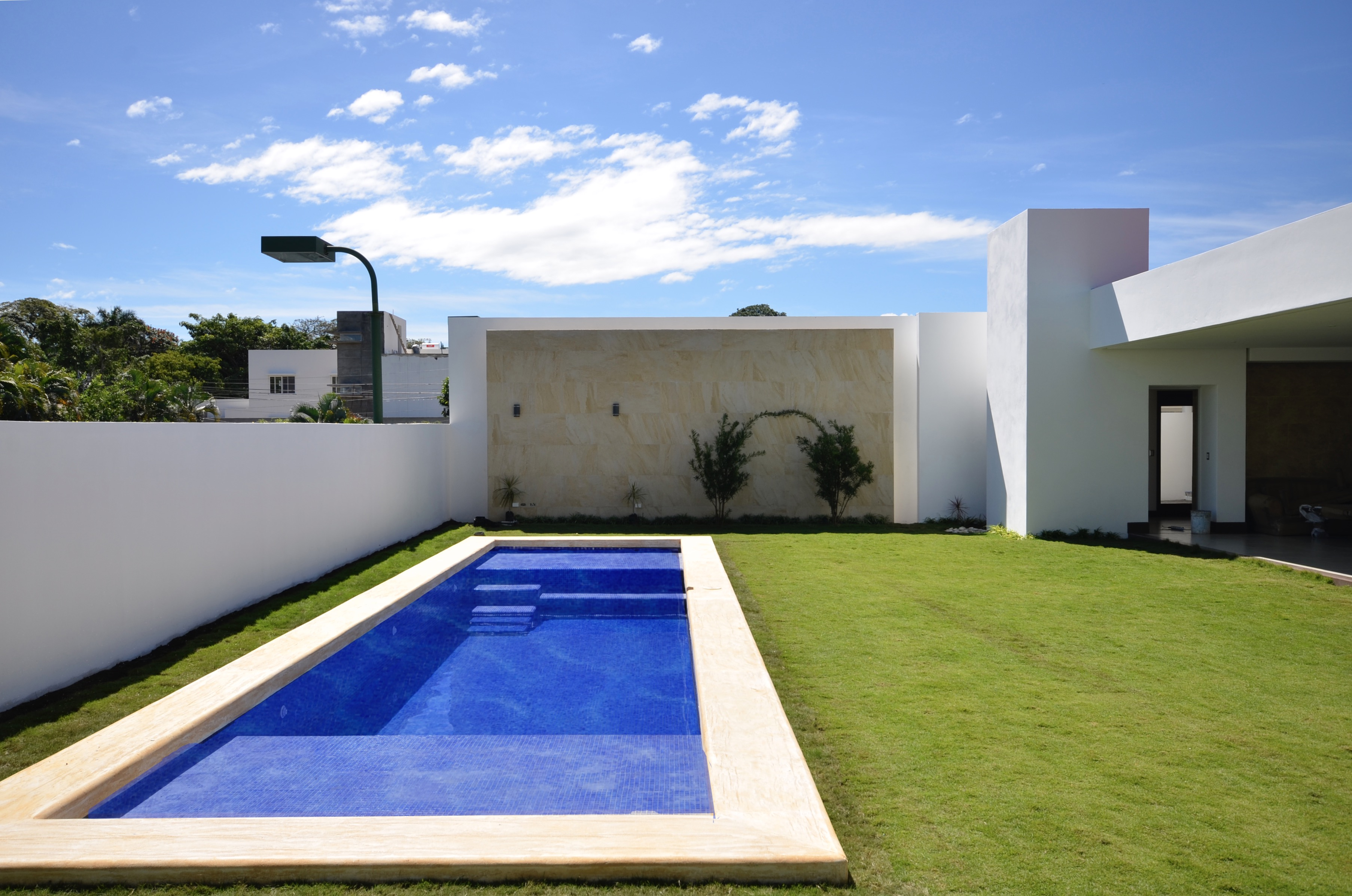 Small pool outside, architect design EL Mirador Residence