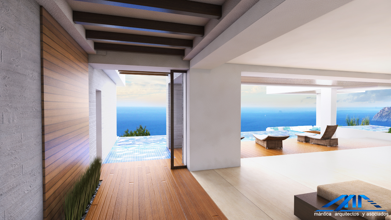 Modern beach, interior design, architect work, Pacific Penthouse Residence