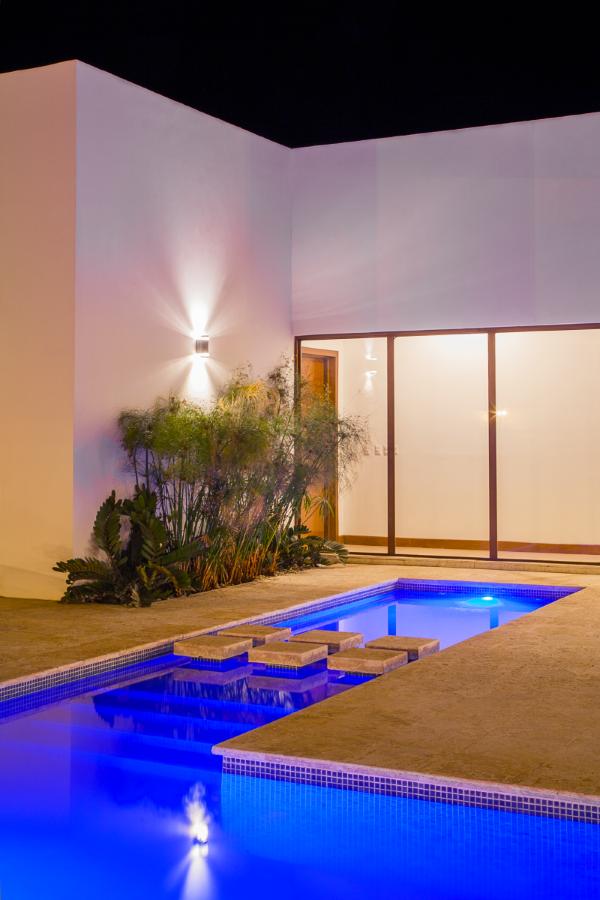 Pool interior design, architect work, Enstancia Residence