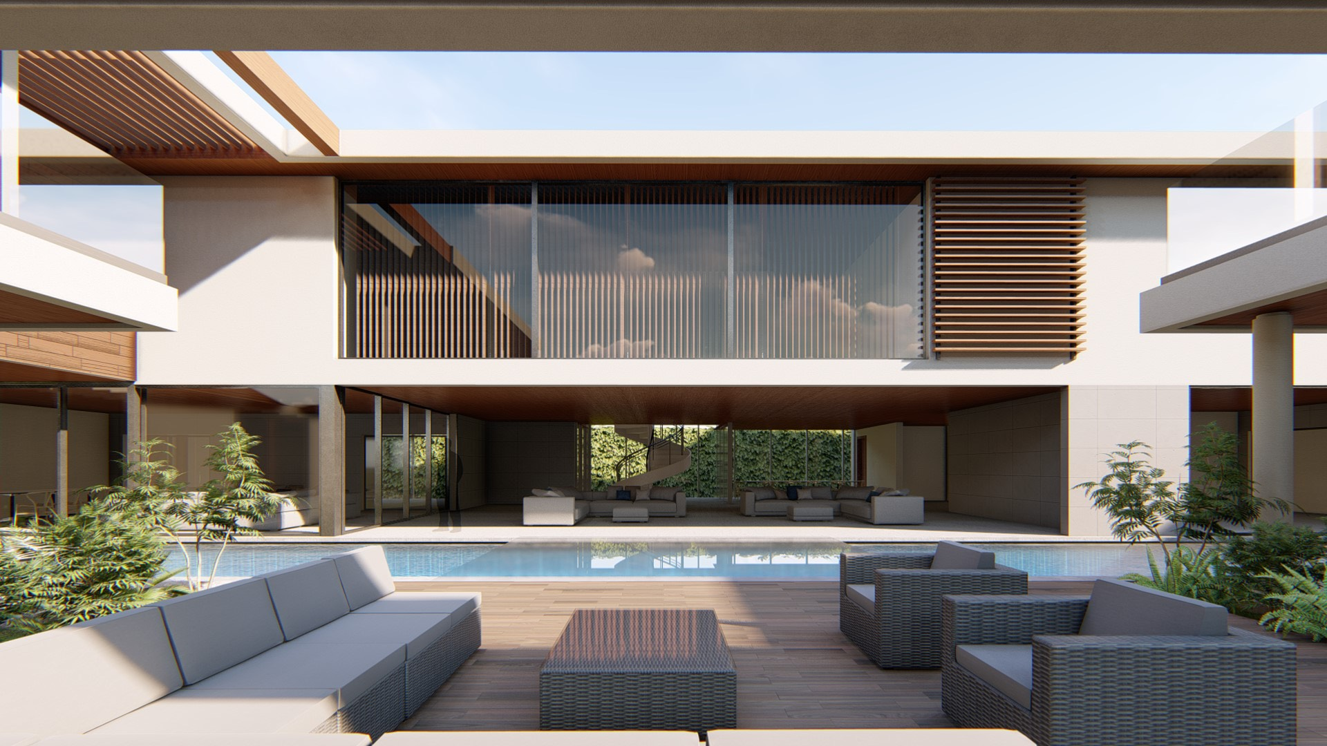 Best On the Board Drawing, Pool, Exterior design, Asia, Karachi