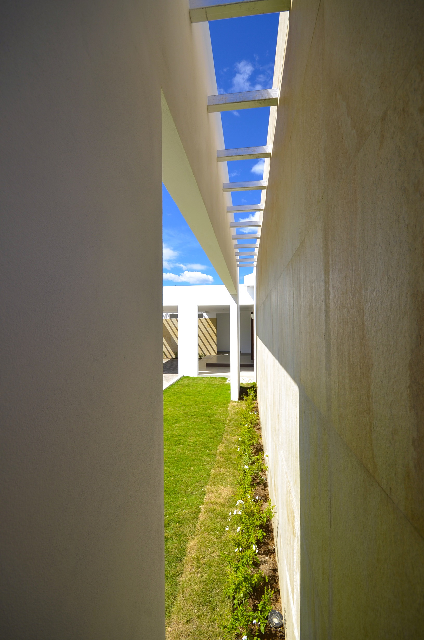 Roof grill, exterior design work, EL Mirador Residence