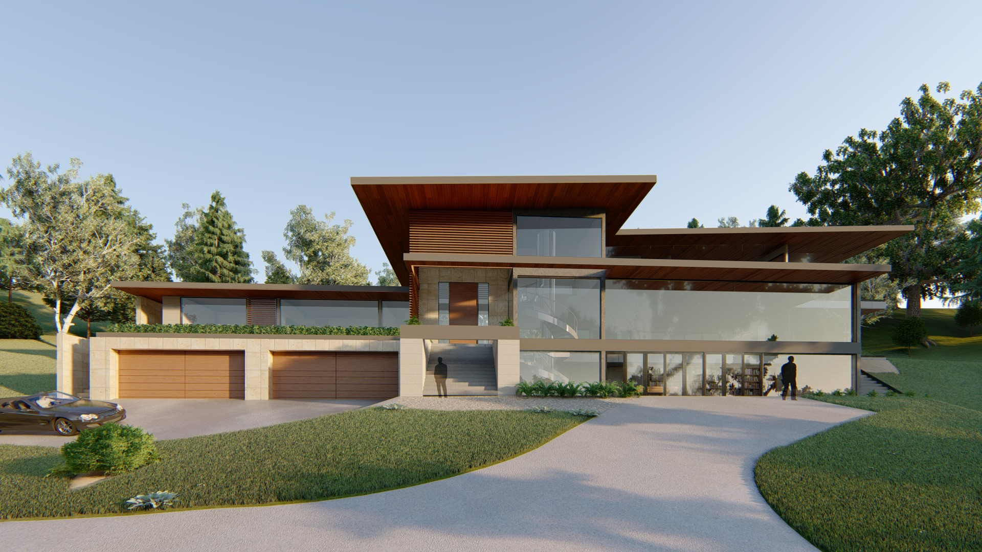 Los Altos, Architecture, construction, On the Drawing Board work in California, San Francisco