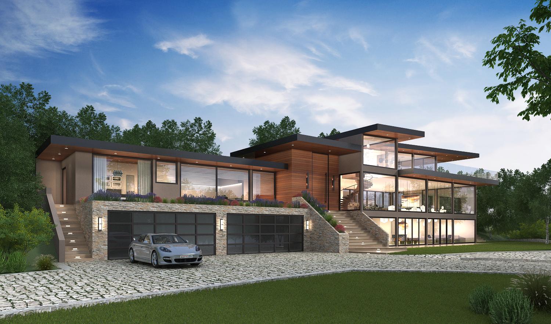 Los Altos, Building Design, California, US