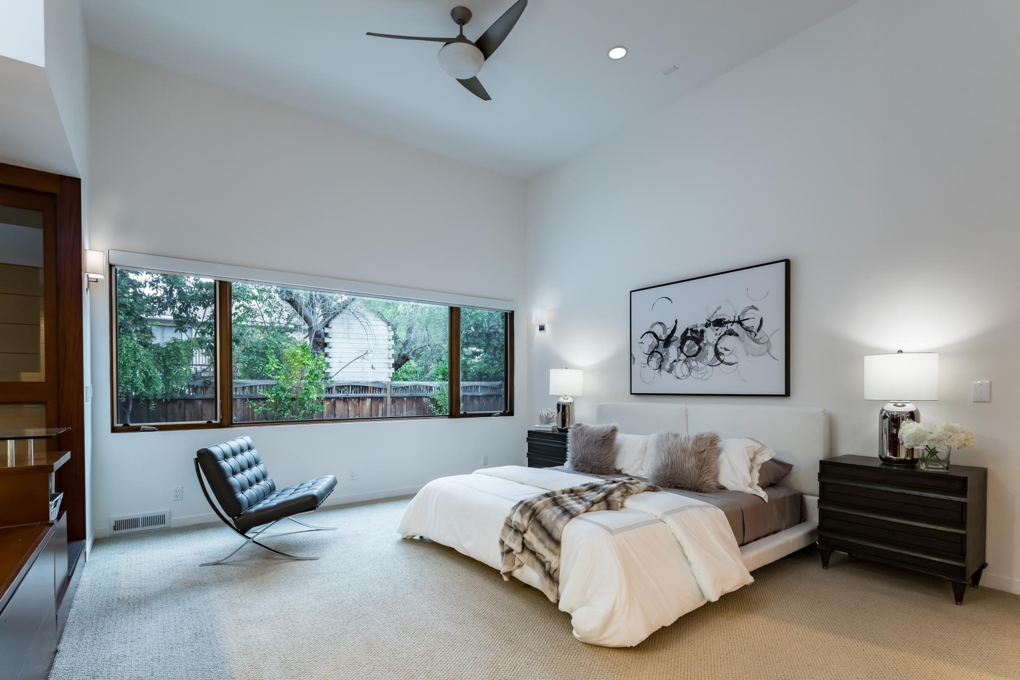 Advance Master bedroom, interior design, architect work, Los Altos