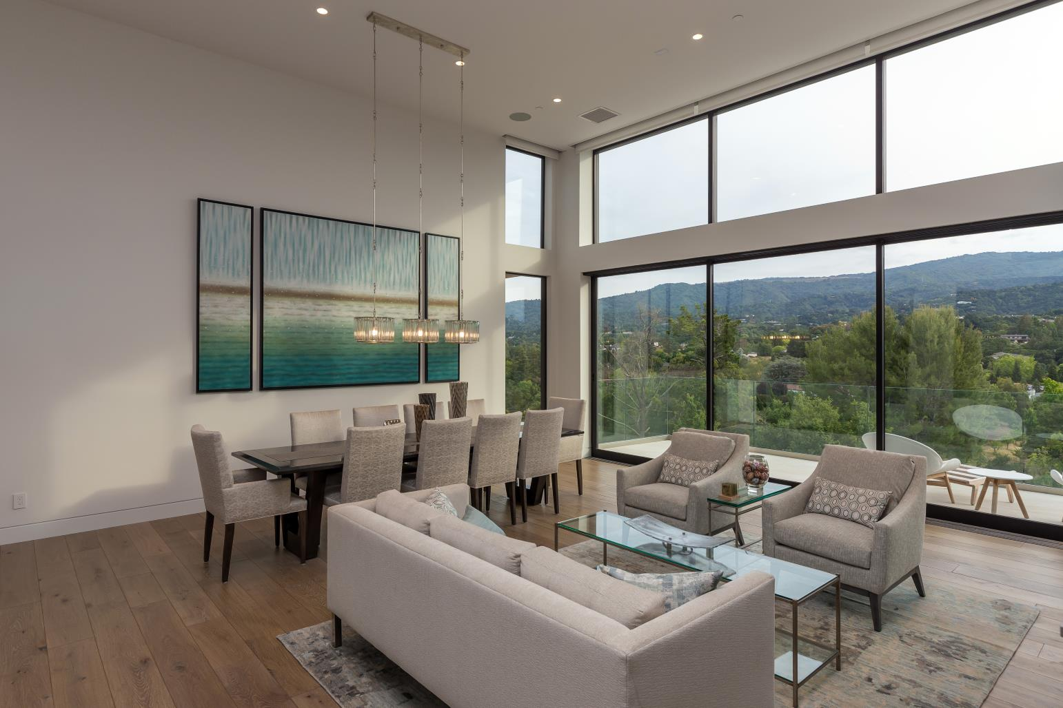 Los Altos Hills , Modern Lounge Design,US