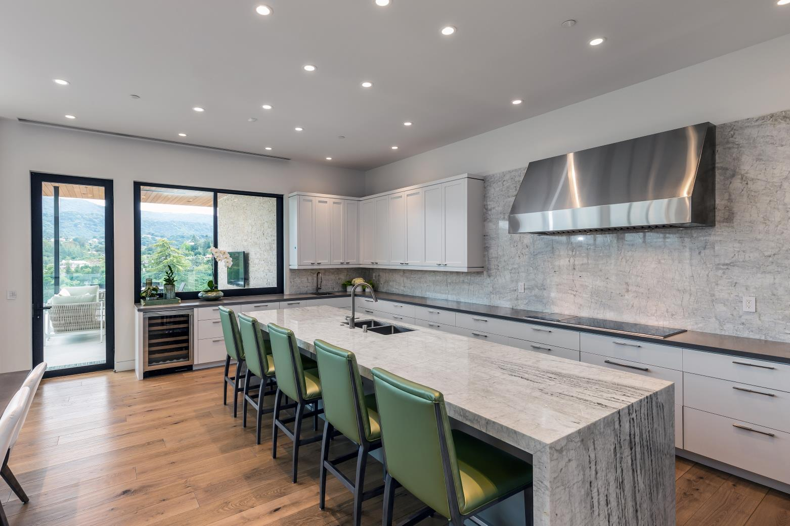 Ruth Lee Court, Los Altos Hills , Modern Kitchen Design, California