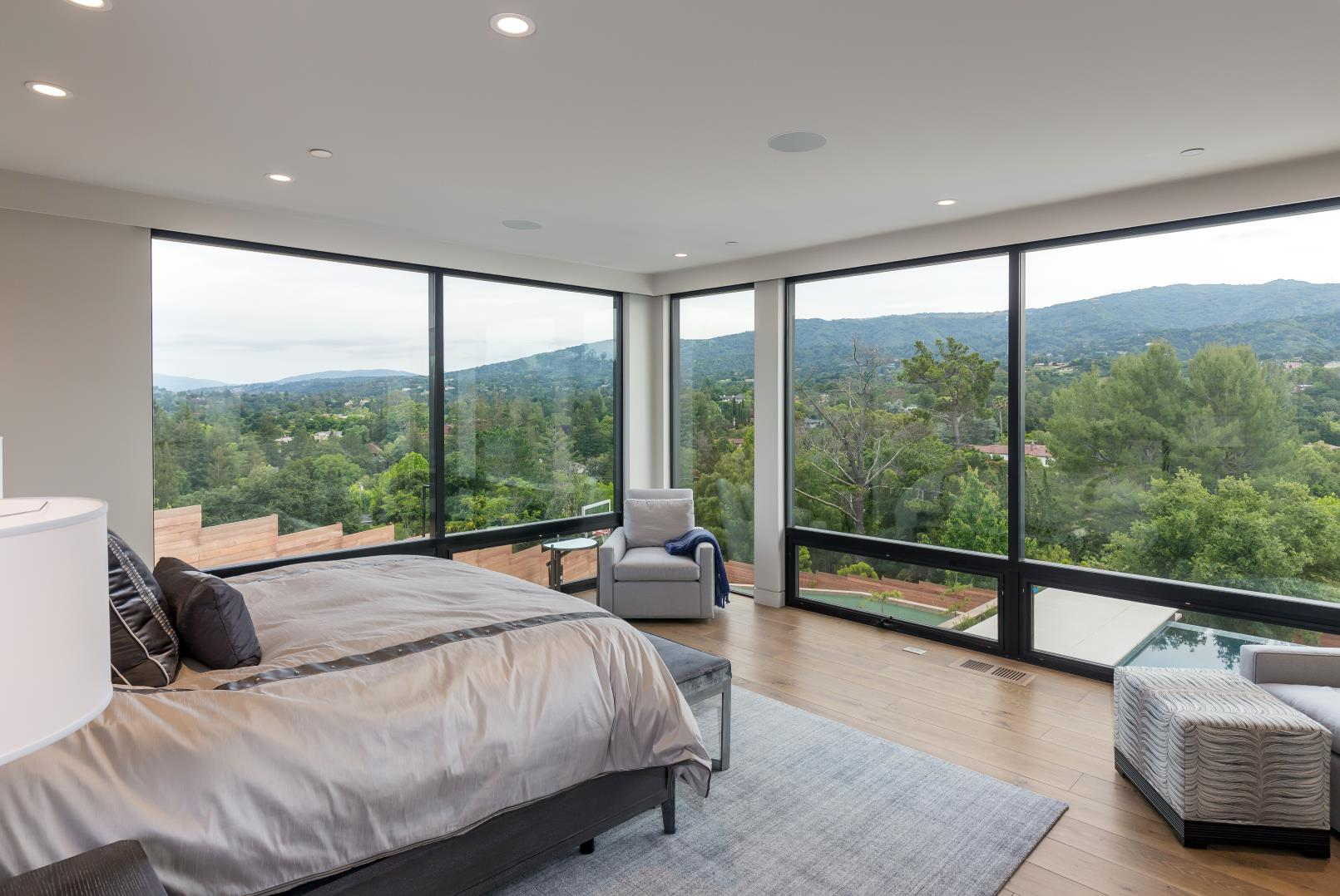 Ruth Lee Court, Los Altos Hills , Modern Bed Room Design