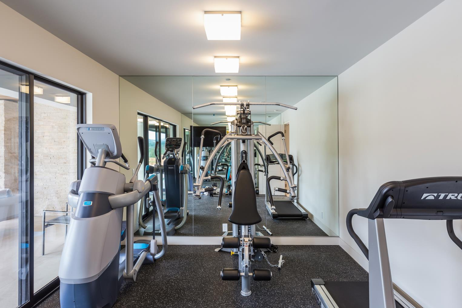 Ruth Lee Court, Los Altos Hills , Gym Interior Design