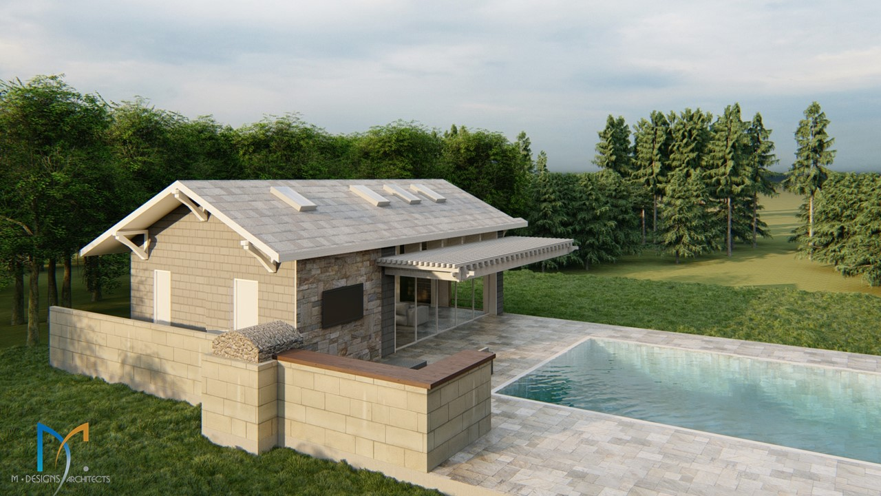 Pool House/Guest Suite